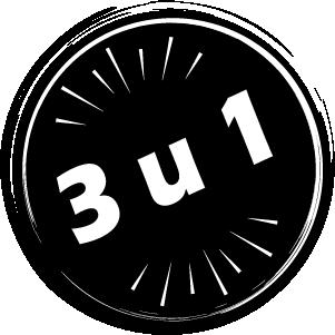 3 u 1